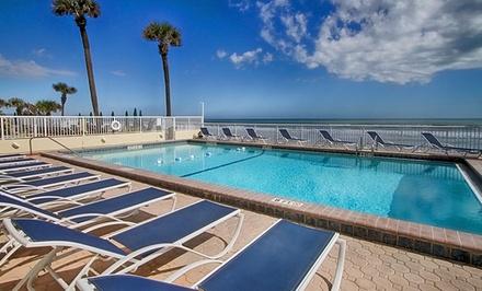 groupon daily deal - Stay at Atlantic Ocean Palm Inn in Daytona Beach, FL. Dates into June.