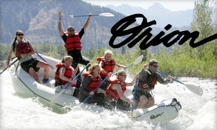 Orion River Rafting - Leavenworth-Lake Wenatchee: $35 for a Wenatchee River Rafting Adventure from Orion River Expeditions ($70 Value)
