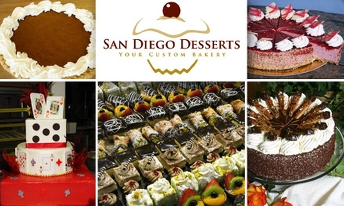 San Diego Desserts  - El Cerrito: $6 for $15 Worth of Holiday Pies, Sweet Treats, and More at San Diego Desserts
