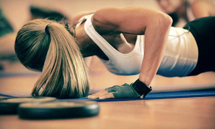 STAT Fitness - Downtown Chattanooga: Yoga Boot Camp and Dancer's Core: Strength and Stretch Classes at STAT Fitness (Up to 80% Off). Three Options Available.