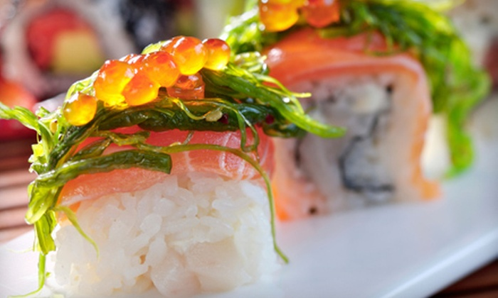 Fusha West - Upper West Side: Sushi Meal for Two or Four Including Appetizers, Special Rolls, and Classic Rolls at Fusha West (Up to 62% Off)