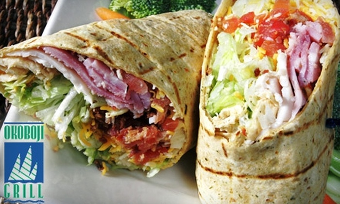 Okoboji Grill - Multiple Locations: $7 for $15 Worth of American Fare and Drinks from Okoboji Grill at Five Locations