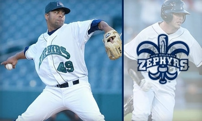 New Orleans Zephyrs - 2: $15 for One Lower-Level Adult Ticket to Three Individual New Orleans Zephyrs Games ($30 Value)