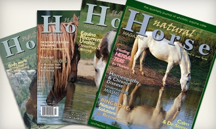 Natural Horse Magazine - Near North Side: $16 for One-Year Print and Online Subscription to Natural Horse Magazine