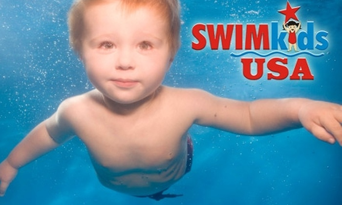 SWIMkids USA - Mesa: $25 for One Month of Parent-Tot Swim or Gym Classes at SWIMkids USA ($75 Value)