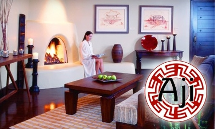 Aji Spa at Sheraton Wild Horse Pass Resort - St. Johns: $25 for $50 Worth of Spa and Salon Services at Aji Spa at Sheraton Wild Horse Pass Resort