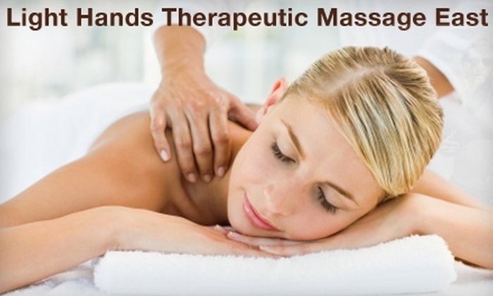 Light Hands Therapeutic Massage East - East Louisville: $30 for a 60-Minute Hot-Stone Massage at Light Hands Therapeutic Massage East ($60 Value)