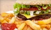 Lot-A-Burger - Multiple Locations: $7 for Burger Meal for Two at Lot-A-Burger ($14 Value)