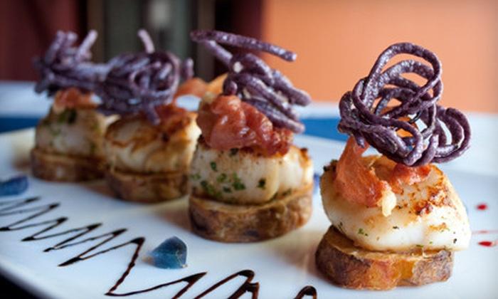 Boardwalk Bistro - Uptown Broadway: $25 for $50 Worth of Mediterranean Dinner Fare at Boardwalk Bistro