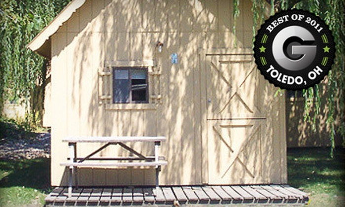 Camp Sandusky - Camp Sandusky: One-Night RV-Site Rental or One-Night Cabin Rental for Up to Four People at Camp Sandusky (Up to 63% Off)
