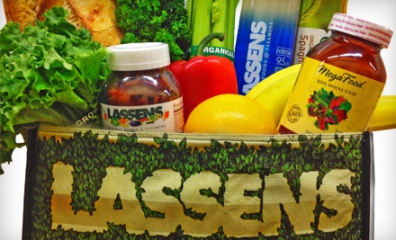 $20 Groupon to Lassen's Natural Foods and Vitamins - Lassen's Natural Foods and Vitamins in Fresno