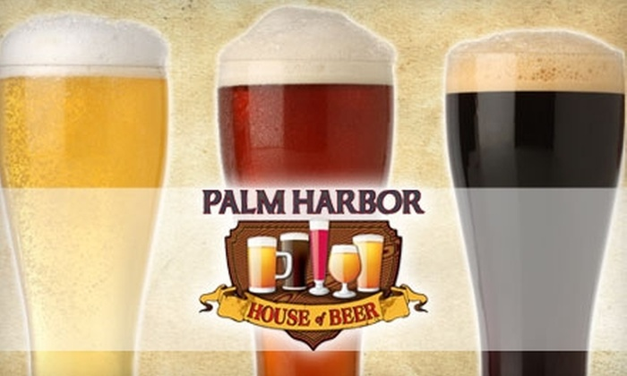 Palm Harbor House of Beer - Asheville: $7 for $15 Worth of Premium Beer and Wine at Palm Harbor House of Beer