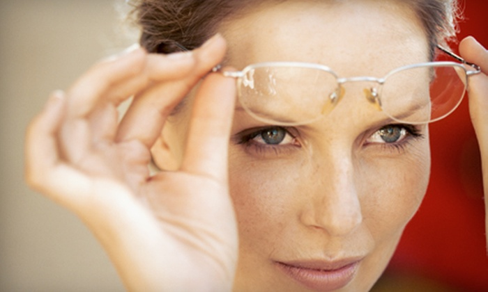 Eyes on 34th - Parsons Industrial: Contact-Lens Package, Eyeglass Package, or Nonprescription Sunglasses at Eyes on 34th