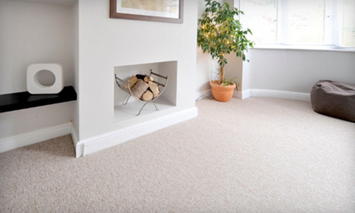 Eco-Friendly Carpet Cleaning in Three Rooms and Hall or Upholstery Cleaning from TruGreen Carpet Care (Up to 69% Off)