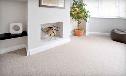 Eco-Friendly Carpet Cleaning in Up to Three Rooms and One Hallway (a $120 value)Valid for North Central Area - TruGreen Carpet Care in