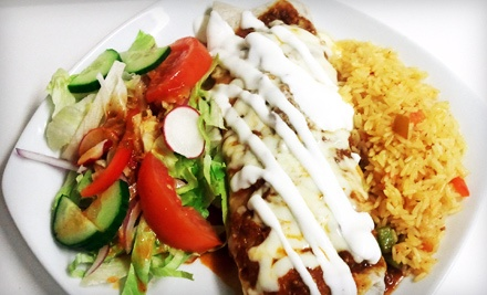 Lunch for 2 (up to a $27.90 Value) - Los Comales Latin Food in London