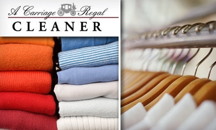 A Carriage Regal Cleaner - Sherman Oaks: $20 for $45 Worth of Eco-Friendly Dry Cleaning from A Carriage Regal Cleaner