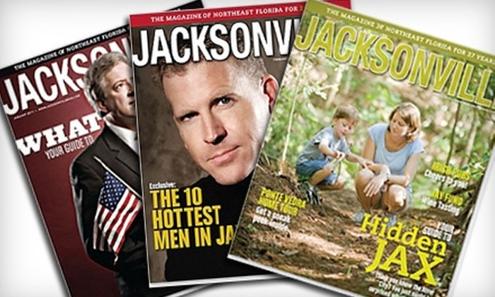 """Jacksonville"" Magazine: $9 for a One-Year Subscription to ""Jacksonville"" Magazine"