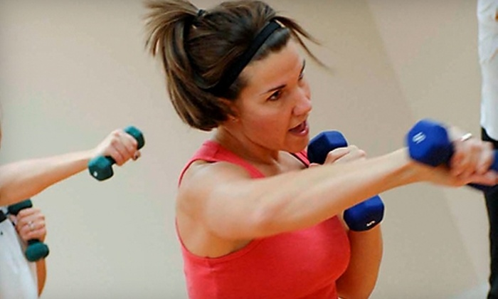 Mamas Move Fitness Center - Norwell: $20 for Five Drop-In Passes ($40 Value) or $35 for Five All-Day Fitness Passes and a Massage ($145 Value) at Mamas Move Fitness Center in Norwell