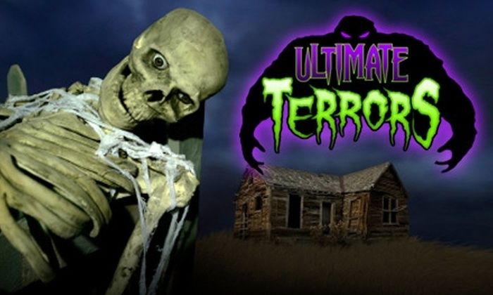 Ultimate Terrors - Central Oklahoma City: $19 for a VIP Pass to Three Haunted Attractions and a Commemorative Photo at Ultimate Terrors ($38 Value)