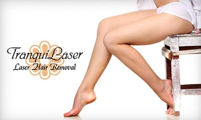 TranquiLaser - Town N County Park: $99 for Three Laser Hair Treatments at TranquiLaser