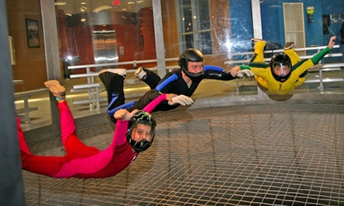 Paraclete XP SkyVenture - McLauchlin: $31 for Two One-Minute Indoor Freefall Flights at Paraclete XP SkyVenture ($63 Value) in Raeford