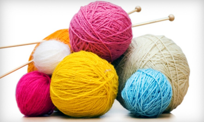All About Yarn - Ellicott City: $10 for $20 Worth of Knitting Supplies and Merchandise at All About Yarn in Columbia
