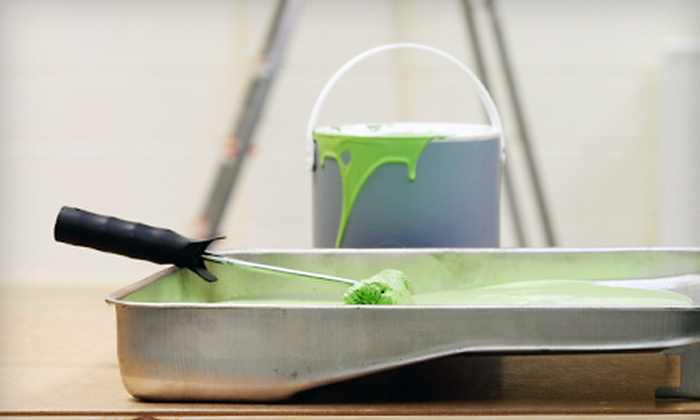 Dom's Design Painting Service - Green: One Room of Painting or Deck Cleanup from Dom's Design Painting Service