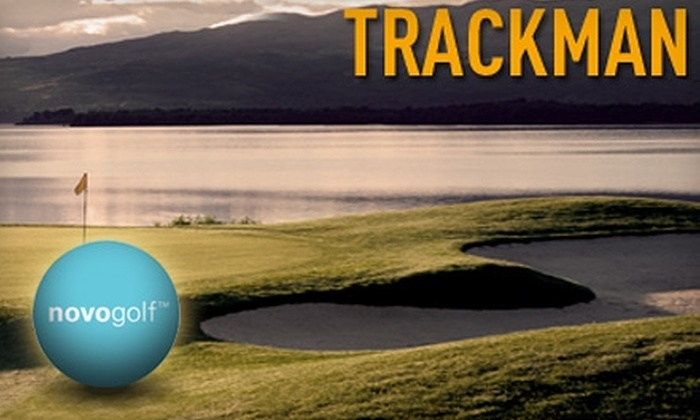 Novo Golf - Orangetown: $29 for a 30-Minute Private Lesson and 60 Minutes of Practice and Driving Games using TrackMan at Novo Golf in Tappan