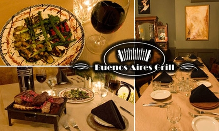 Buenos Aires Grill - Belltown: $25 for $50 Worth of Argentinean Fare & Drinks at Buenos Aires Grill