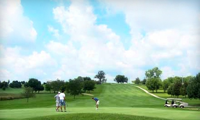 Hughes Creek Golf Club - Elburn: $34 for 18 Holes of Golf for Two Plus Cart Rental at Hughes Creek Golf Club in Elburn (Up to $96 Value)