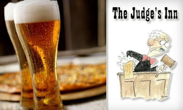 The Judge's Inn - Albany / Capital Region: $10 for $20 Worth of Pub Grub and Drinks at The Judge's Inn