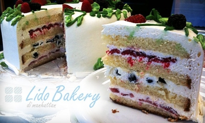 Lido Bakery - Manhattan Beach: $3 for a Slice of Layer Cake at Lido Bakery ($6 Value)