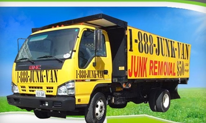 1-888-JUNK-VAN - Toronto (GTA): $75 for $175 Worth of Junk-Removal Services from 1-888-JUNK-VAN