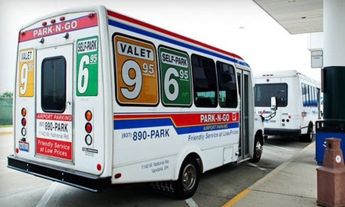 Park-N-Go Airport Parking - Vandalia: $20 for $40 Worth of Airport Valet Services from Park-N-Go Airport Parking