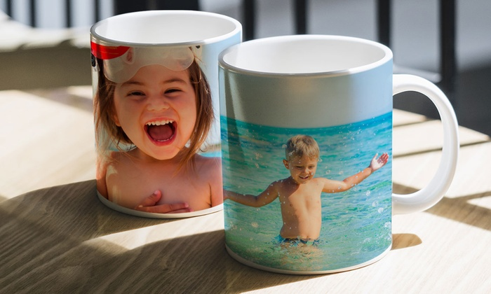 CanvasOnSale: Personalized Photo Mugs from CanvasOnSale (Up to 84% Off)