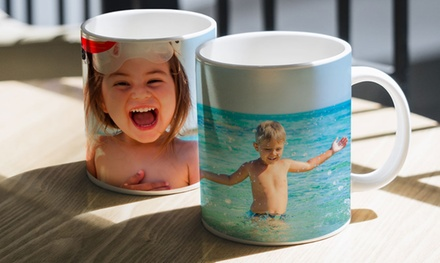 Personalized Photo Mugs from CanvasOnSale (Up to 84% Off)