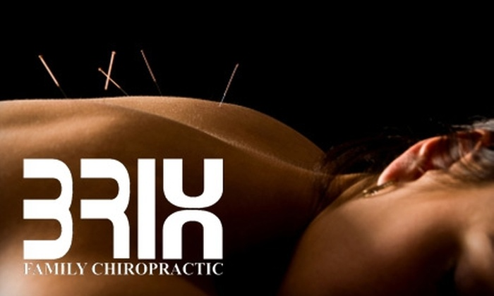 Brix Family Chiropractic - Central City: $29 for $100 Worth of Acupuncture or Chiropractic Sessions at Brix Family Chiropractic Centre