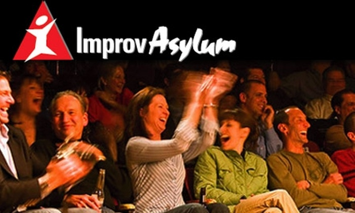 Improv Asylum - North End: $99 for Level One Improv Training Classes ($260 Value) or $28 for Two Tickets to an Improv Show ($46 Value) at Improv Asylum