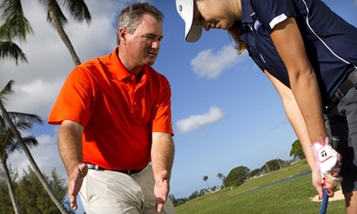 Brian Mogg Performance Center of Hawaii - Ewa: $99 for 18 Holes of Golf and Two Private Lessons at the Brian Mogg Performance Center of Hawaii in Ewa Beach ($225 Value)