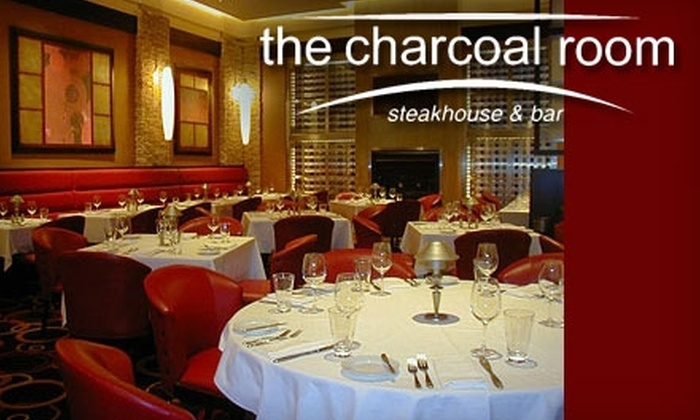 The Charcoal Room - Las Vegas: $25 for $50 Worth of Steaks, Seafood, and Drinks at The Charcoal Room