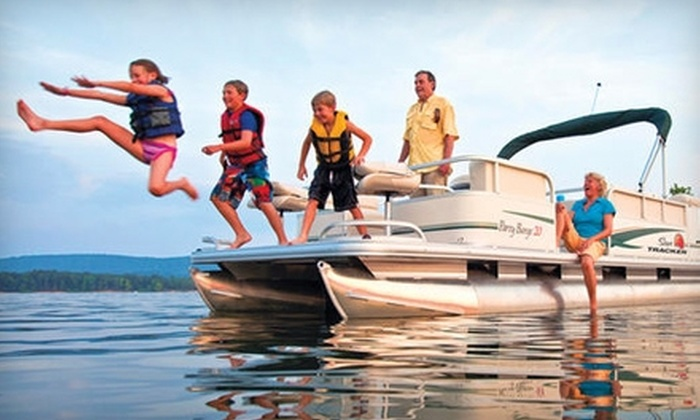 Paradise Rental Boats - Multiple Locations: Four-Hour Boat Rental on Lake Lanier or Lake Allatoona from Paradise Rental Boats. Choose from Three Options.