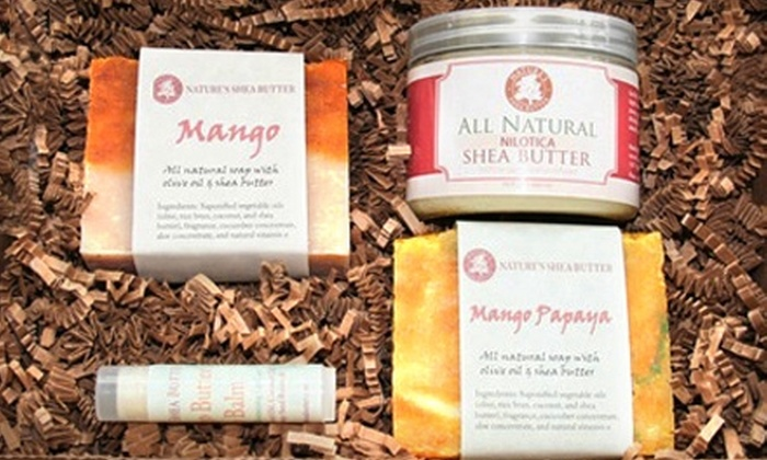 Nature's Shea Butter: $15 for $30 Worth of Shea-Butter Products from Nature's Shea Butter