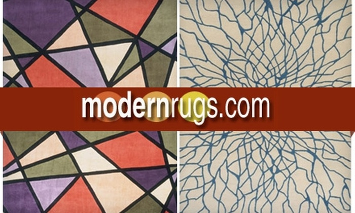 ModernRugs.com - New Orleans: $75 for $200 Worth of Rugs and More from ModernRugs.com