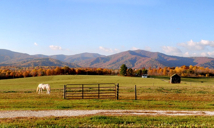 Fairview Bed & Breakfast - Boonsboro: $249 for a Two-Night Stay for Two with Wine and Massage at Fairview Bed & Breakfast in Virginia (Up to $440 Value)