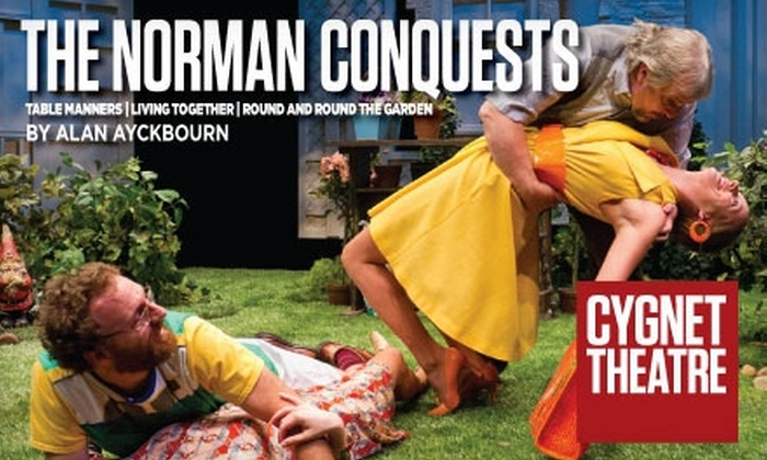 """The Norman Conquests"" by Cygnet Theatre Company - Old Town: $19 for One Ticket to One of Three Plays in ""The Norman Conquests"" by Cygnet Theatre Company at The Old Town Theatre"