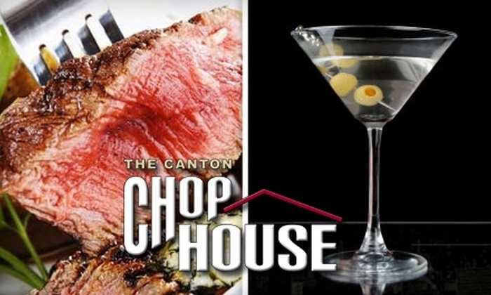 Big City Chophouse - Jackson: $20 for $40 Worth of Steakhouse Fare and Drinks at The Canton Chophouse
