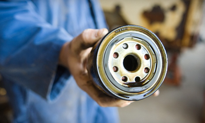 Summerville Ford - Katony: $24 for a Synthetic-Blend Oil Change and Tire Rotation at Summerville Ford ($49.99 Value)