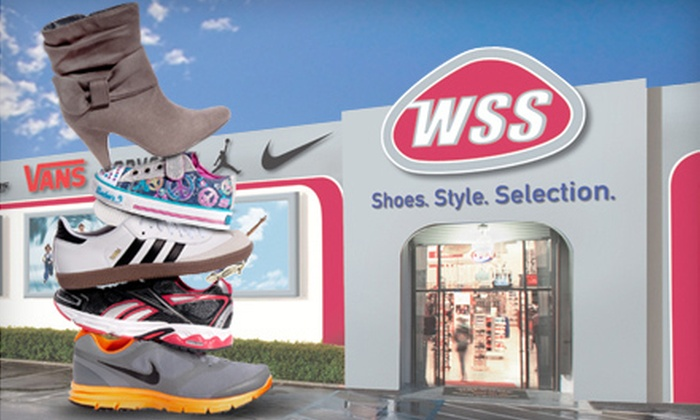 WSS Footwear - Multiple Locations: $20 for $40 Worth of Shoes and Accessories at WSS Footwear