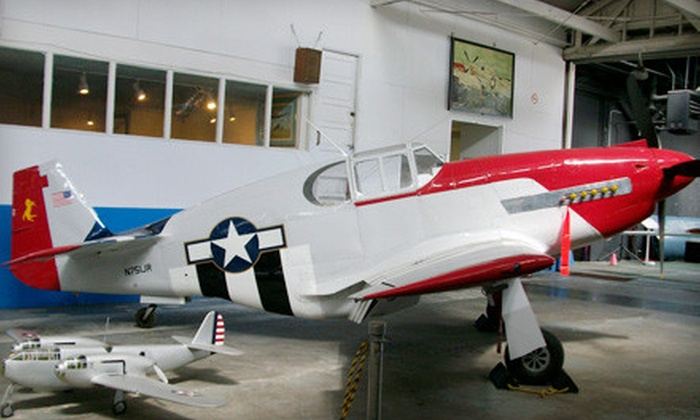 Oakland Aviation Museum - Oakland: Oakland Aviation Museum Outing for Up to Two Adults or a Family Membership (Half Off)